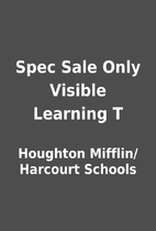 Spec Sale Only Visible Learning T by…