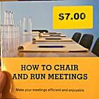 Chairing & running meetings by Nina…