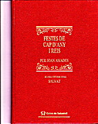 Festes de cap d'any i reis by Joan Amades