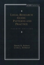 Legal Research Guide: Patterns and Practice…