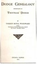 Dodge genealogy; descendants of Tristram…