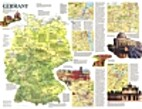 A Traveler's Map of Germany [map] by…