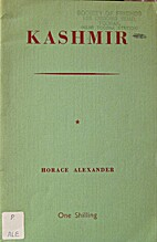 Kashmir by Horace Alexander