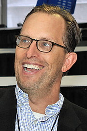 """Author photo. Historian James Hornfischer at the 2016 Texas Book Festival. By Larry D. Moore, CC BY-SA 4.0, <a href=""""https://commons.wikimedia.org/w/index.php?curid=53296731"""" rel=""""nofollow"""" target=""""_top"""">https://commons.wikimedia.org/w/index.php?curid=53296731</a>"""