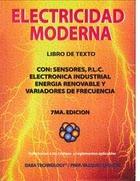 Electricidad moderna: Libro de texto con:…