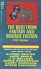 The Best From Fantasy and Science Fiction:…
