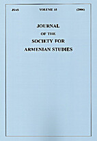 Journal of the Society for Armenian Studies…