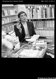 Author photo. Walter Matthias Diggelmann