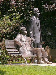 Author photo. Brody (seated) image: Pasztilla aka Attila Terbócs