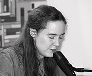 Author photo. Tanja Kinkel at the Leipzig Book Fair, 2010 [credit: Amrei-Marie at the German language Wikipedia]