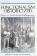 Functionalism Historicized: Essays on…