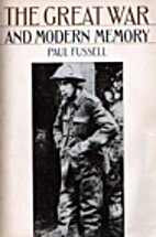 The Great War and Modern Memory by Paul…