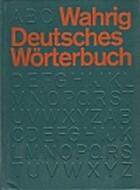 Deutsches Wörterbuch by Gerhard Wahrig