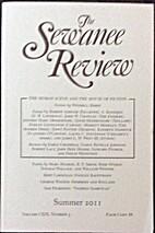 Sewanee Review Summer 2011 Volume CXIX…