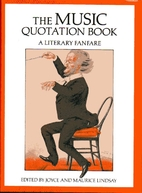 Music Quotation Book: A Literary Fanfare by…