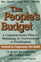 The People's Budget: A Common Sense Plan for…