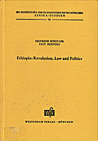 Ethiopia - Revolution, Law and Politics by…