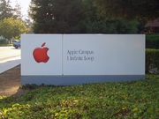 Author photo. Sign at Apple Headquarters.  Photo by user Elwood_j_blues / Wikimedia Commons