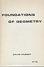 Foundations Of Geometry by David Hilbert