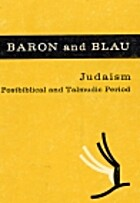 Judaism: Postbiblical and Talmudic Period by…