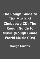 The Rough Guide to The Music of Zimbabwe CD:…