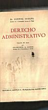 Derecho administrativo by Ludwig Spiegel