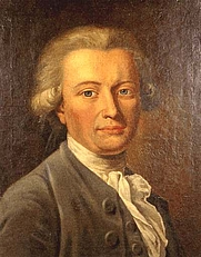 Author photo. Portrait of Georg Forster by Johann Heinrich Wilhelm Tischbein (1751-1829), from Wikimedia Commons
