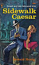 Sidewalk Caesar by Donald Honig