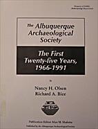 The Albuquerque Archaeological Society's…