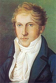Author photo. Louis Spohr (1784-1859) Self-portrait of Spohr as a young man (Public domain ; Wikipedia)