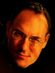 Author photo. Picture from his website http://scarrow.co.uk