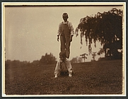 Author photo. Photo (by Edward S. Curtis) shows Nicholas Roosevelt kneeling as Archie Roosevelt stands on his back at Sagamore Hill, circa 1904: Library of Congress Prints and Photographs Division (REPRODUCTION NUMBER:  LC-DIG-ppmsca-23803)