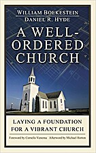 A well ordered Church: Laying a foundation…