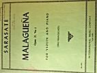 Malaguena Op. 21, No. 1- for Violin and…