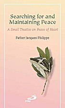 Searching for and Maintaining Peace by…