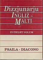 Dizzjunarju Ingliż - Malti: J-Q, It-Tielet…