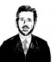 Author photo. Joseph Nicolosi. Uncredited drawing from the web site of <a href=&quot;http://www.truthwinsout.org/blog/2012/03/23099/&quot; rel=&quot;nofollow&quot; target=&quot;_top&quot;>Truth Wins Out</a>