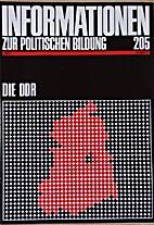 Informationen zur politischen Bildung 205.…