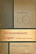 Elementary Logic: for Secondary Schools by…