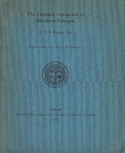 The Christian Antiquities of Northern…