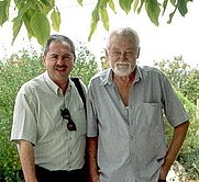 Author photo. Gunther Kunkel (right)