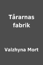Tårarnas fabrik by Valzhyna Mort