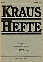 Kraus-Hefte 52 (1989)