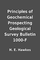 Principles of Geochemical Prospecting…