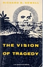 The vision of tragedy by Richard Benson…