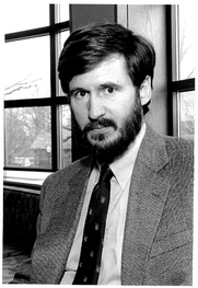Author photo. Prof. Michael William Doyle (photo courtesy of Princeton University)