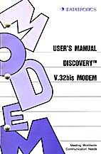 User's Manual: Discovery V.32bis Modem by…