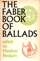 Faber Book of Ballads by Matthew Hodgart