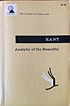 Analytic of the beautiful, from the Critique…