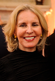 Author photo. Sally Quinn [credit: Financial Times]